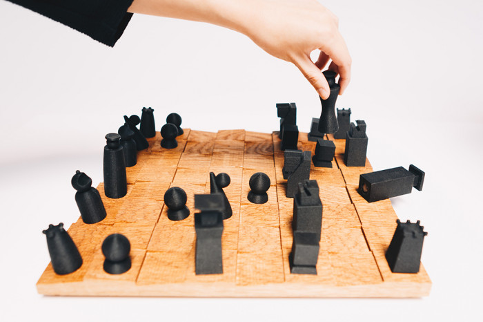 Chessboard for the A+D Museum LA