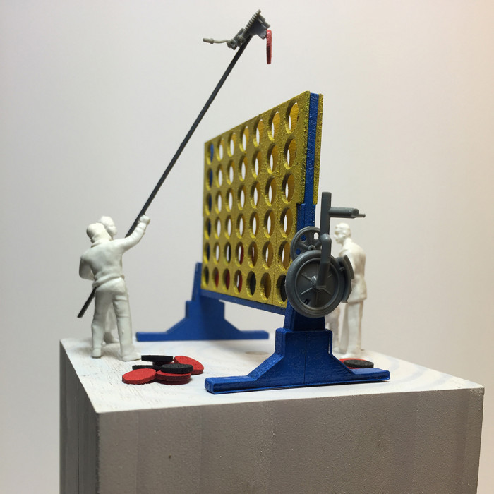 Scale Shift: Connect Four